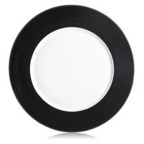 """Тарелка подстановочная Lenox """"Маркеса"""" 30см (чёрная), цвет черный - Lenox"""