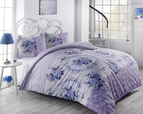 Постельное белье Ranforce Arven, цвет сиреневый, 2-спальный - Altinbasak Tekstil