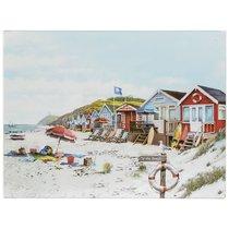 Доска разделочная стеклянная Lesser & Pavey Солнечный Пляж 40x30см - Lesser & Pavey