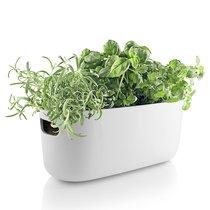 Кашпо для растений с функцией самополива белое - Eva Solo