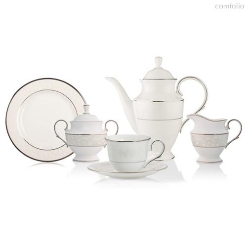 Сервиз кофейный Lenox Чистый опал на 6 персон 21 предметов, фарфор - Lenox