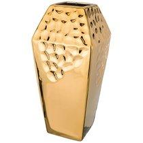 Ваза Декоративная Золотая Коллекция 16x16 см Высота 33 см - Hebei Grinding Wheel Factory