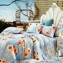 Нежные цветы - комплект постельного белья, размер 2-спальный - Famille