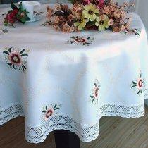 Скатерть SK 10, цвет белый, 160x220 - Valtery