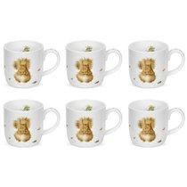 """Набор кружек Royal Worcester """"Забавная фауна"""",""""Белочка"""" 310мл, 6шт, костяной фарфор - Royal Worcester"""