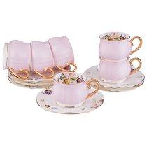 Чайный Набор Пинк На 6 Персон, 12 Пр. 200 Мл - Porcelain Manufacturing Factory