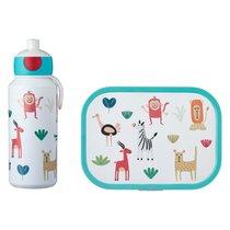Набор детский ланч-бокс и бутылка для воды Mepal 400мл+750мл (животные) - Mepal