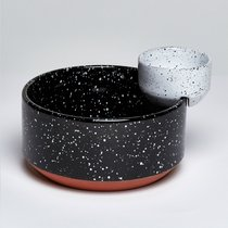 Чаша сервировочная Eclipse для снеков и соуса - DOIY