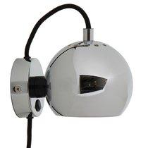 Лампа настенная Ball, d12 см, хром, глянцевая - Frandsen