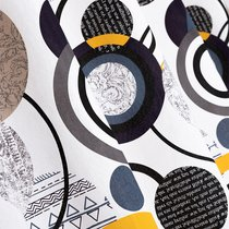 Ткань лонета Хайтек ширина 280 см/ 3176/1, цвет молочный - Altali