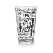 Стакан для пива Malta Beer 470мл, цвет прозрачный - Quid