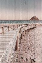 Мостик к пляжу 60х90 см, 60x90 см - Dom Korleone