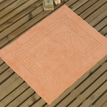 Коврик для ванной Likya, цвет абрикосовый, размер 50x70 - Karna (Bilge Tekstil)
