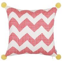 """Чехол для декоративной подушки """"Crunkle"""", 302-8319/P3, 43х43 см, цвет розовый, 43x43 - Altali"""