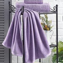 "Полотенце махровое ""KARNA"" EFOR 420 гр (40x60) см 1/1, цвет сиреневый, 40x60 - Bilge Tekstil"