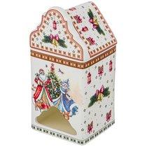 Банка Для Чайных Пакетиков Christmas Collection 9x9 см Высота 18 см - Cheerful Porcelain
