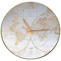 Часы Настенные Кварцевые Карта Мира 45*45*5,5 см - FuZhou Chenxiang