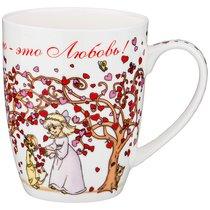 Кружка Lefard Дерево Сердец 400 мл - Shanshui Porcelain