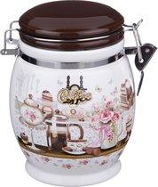 Емкость Для Сыпучих Продуктов Coffee Высота 15 см / 750 мл - Huachen Ceramics