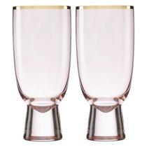 """Набор бокалов для коктейля Lenox """"Трианна"""" 410мл, 2шт (пудровый), цвет пудра - Lenox"""