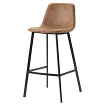 Стул барный Berg, Hugh, 50х47х99 см, светло-коричневый - Berg