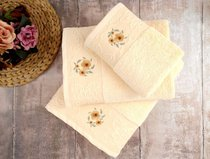 Полотенце банное Loya Sari, цвет белый, размер 70x130 - Irya