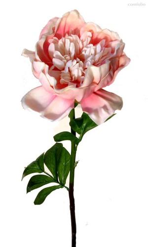 Пион розовый 75 см 12 шт.в упак. - Top Art Studio