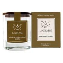 Свеча ароматическая Ambientair, Lacrosse, Сандал и бергамот, в стекле, круглая, 40 ч - Ambientair