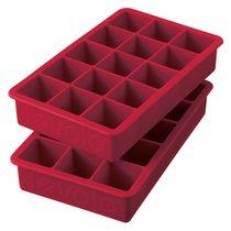 Набор форм силиконовых для льда Tovolo 7х11,5х22 см, 2 шт, темно-красный - Tovolo