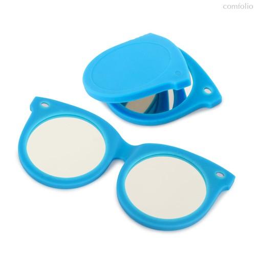 Зеркальце Shades синее, цвет синий - Balvi