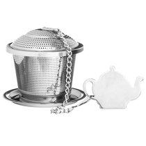 Емкость для заваривания чая с блюдцем - Price & Kensington