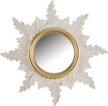 Зеркало Настенное Белое Диаметр 50/18 см - Euromarchi