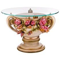 ЖУРНАЛЬНЫЙ СТОЛИК ГРАНАТЫ ДИАМЕТР 80 см ВЫСОТА 45 см - Ceramiche Stella