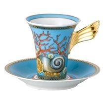 """Чашка кофейная с блюдцем 180мл """"Сокровища моря"""" - Rosenthal"""