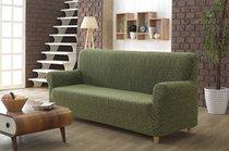 "Чехол для дивана ""KARNA"" трехместный MILANO, цвет зеленый - Bilge Tekstil"