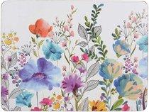 Подставки на пробке средние Цветочный луг 30х23 см (6шт) - Creative Tops