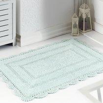 Коврик для ванной Evora, кружевной, цвет зеленый, 60x100 - Bilge Tekstil