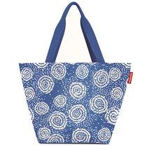 Сумка Shopper M batik strong blue - Reisenthel