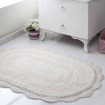 Коврик для ванной Diana, кружевной, цвет кремовый, 50x80 - Bilge Tekstil