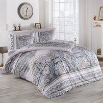 Постельное белье Ranforce Masal, цвет коричневый, размер 1.5-спальный - Karna (Bilge Tekstil)