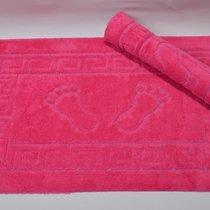Коврик для ванной Likya, цвет фуксия, 50x70 - Bilge Tekstil