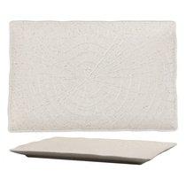 Тарелка прямоугольная 24х17х1,8см серия Elephant Ivory матовый фарфор PL Proff Cuisine - P.L. Proff Cuisine