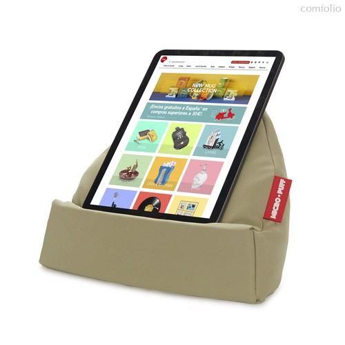 Подставка для планшета и смартфона Micro Puff зеленая, цвет зеленый - Balvi