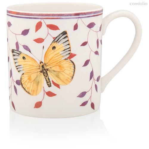 """Кружка Lenox """"Бабочки на лугу.Желтушка"""" 300мл розовая, п/к - Lenox"""