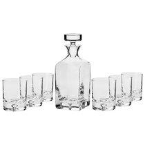 "Набор графин 0,75л и 6 стаканов для виски 250мл Krosno ""Легенда"" п/к - Krosno"