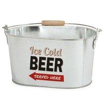 Емкость для охлаждения пива Party Time, цвет серебряный - Balvi