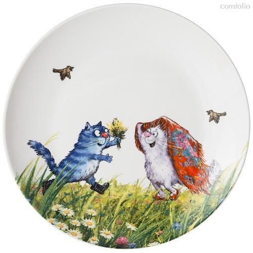 Тарелка Закусочная Lefard Русское Поле 20,5 см - Meizhou Yuesenyuan