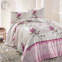 Постельное белье Ranforce Almila, цвет бежевый, размер Евро - Altinbasak Tekstil
