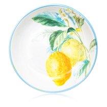 "Тарелка суповая Certified Int. ""Лимоны"" 23см - Certified International"