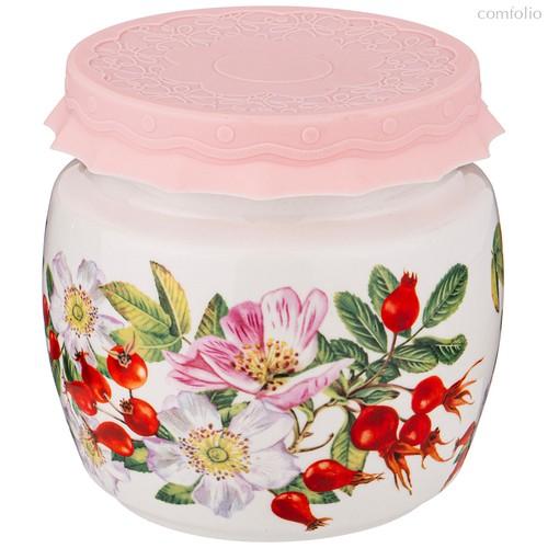 Банка С Силиконовой Крышкой Шиповник 750 мл - Shunxiang Porcelain